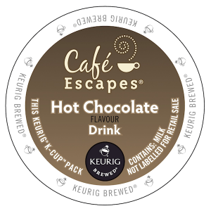 Cafe Escapes hot chocolate flavour drink 300x300 Coffee Products