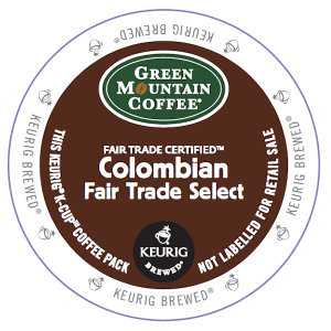 Green Mountain K Cup Colombian Fair Trade Select Coffee 300x300 Coffee Products