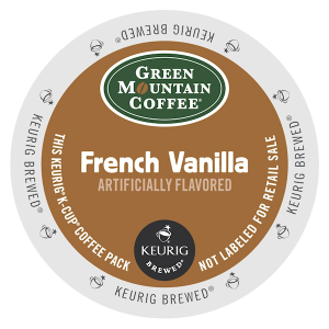 Green Mountain K Cup French Vanilla 300x300 Coffee Products